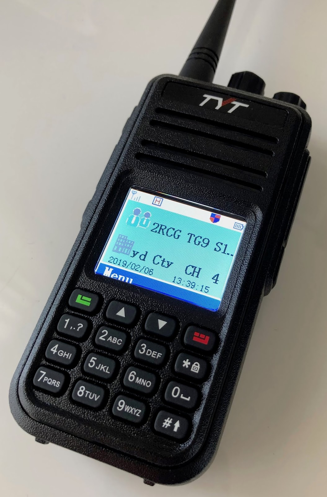 marxy's musing on technology: TYT MD-380 DMR getting started in Sydney