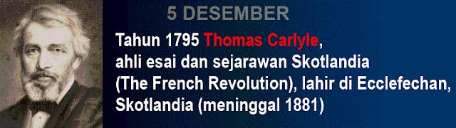 Hari Kelahiran Thomas Carlyle