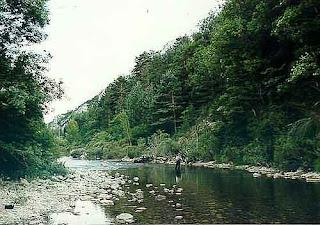 Río Esca, Valle del Roncal