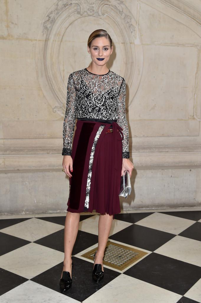 The Olivia Palermo Lookbook Olivia Palermo At Paris Fashion Week