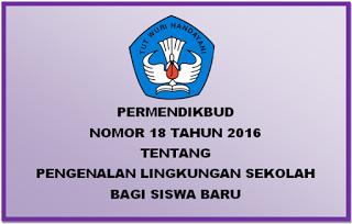 Permendikbud Nomor 18 Tahun 2016