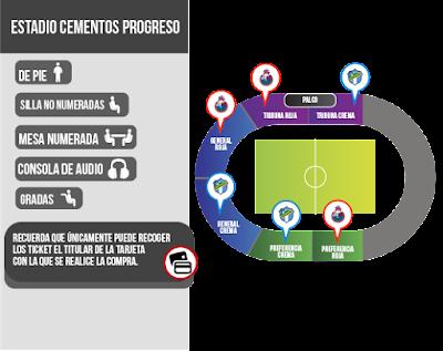 Localidades Ronaldinho Guatemala