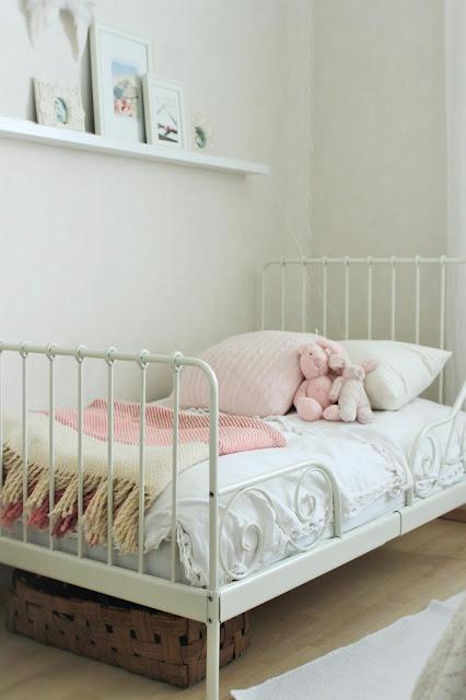 ikea minnen, jatkettava sänky