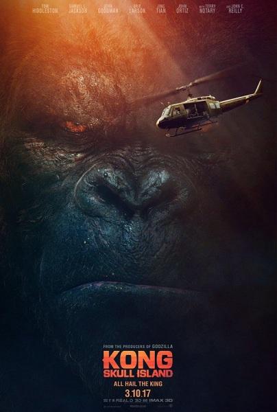 Film Kong: Skull Island 2017