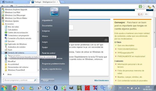 Repara tu Windows 7 ultimate sin formatear