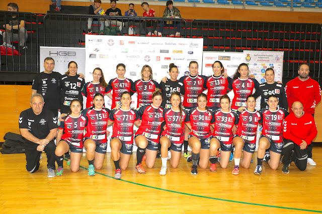 El equipo de la temporada 2017/2018, con Ana Temprado como número 12