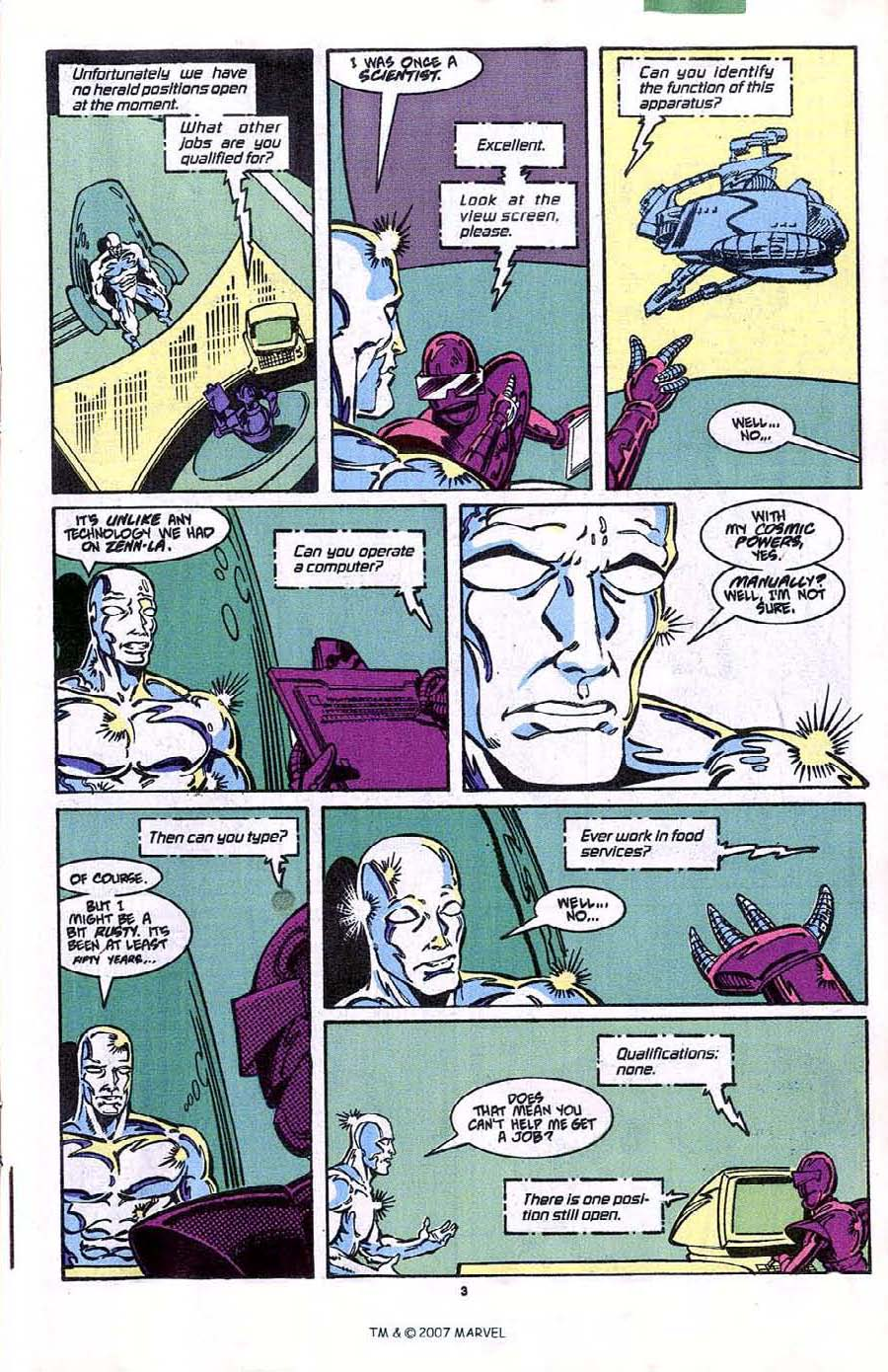 Read online Silver Surfer (1987) comic -  Issue #41 - 5
