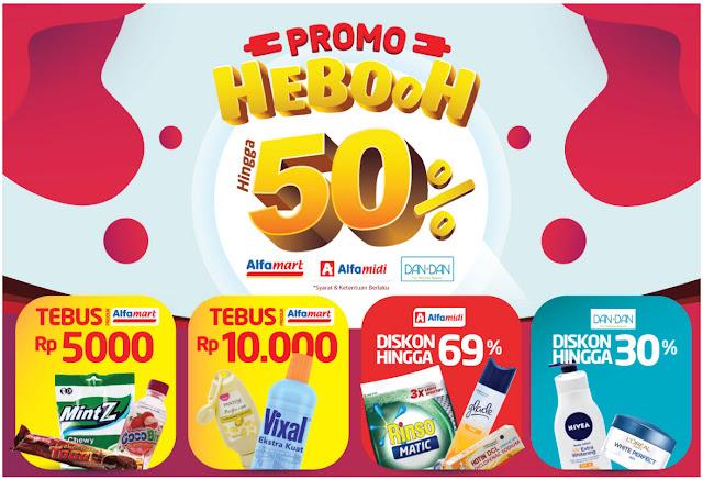 #Alfacart - #Promo Heboh Diskon Hingga 50% di Alfamart Alfamidi Dan+Dan