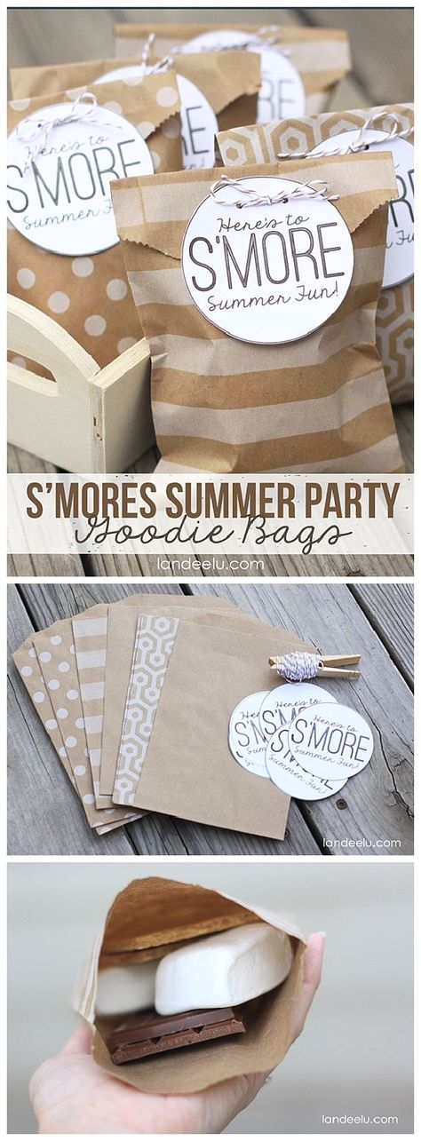 S-more summer party bags