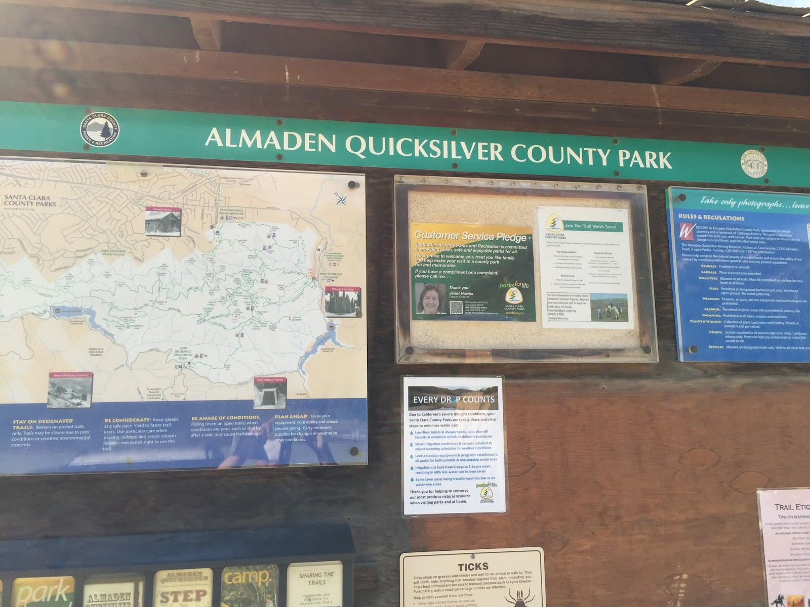 Hiking in the Bay Area: Almaden quicksilver county park, San ...