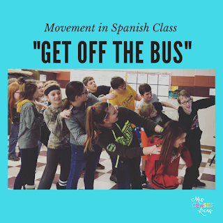 10 Ways to Get your Spanish Class Moving - Mis Clases Locas