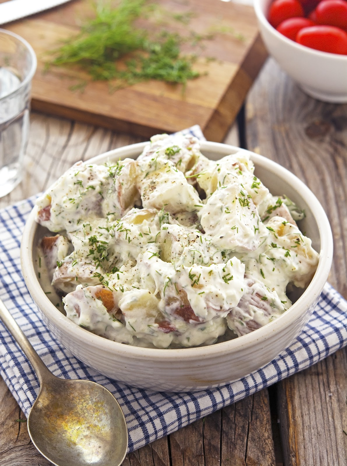 The Iron You: Tzatziki Potato Salad