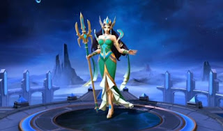 Munculnya Hero Mage Kadita di game Mobile Legends