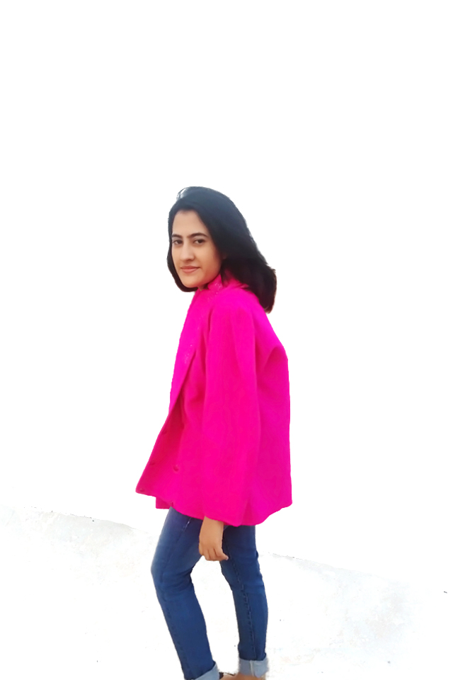 Pink coat, vintage coat