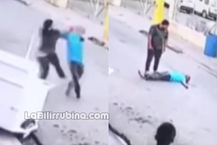 Video: Hombre mata a otro de una trompada en Jarabacoa