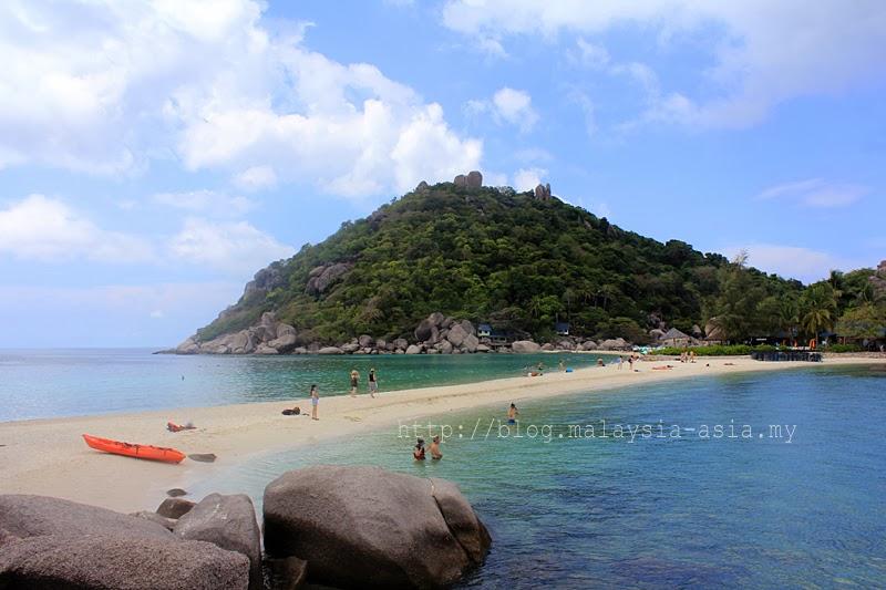Thailand Koh Nang Yuan Island