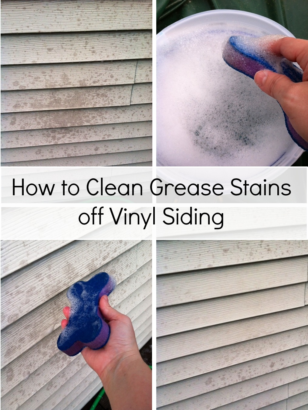 Vinegar And Water To Clean Vinyl Siding
