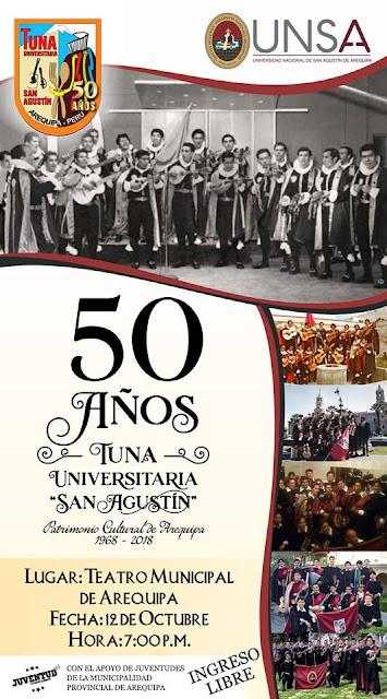 50 años tuna UNSA