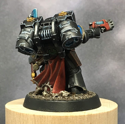 Deathwatch Librarian with Jump Pack back