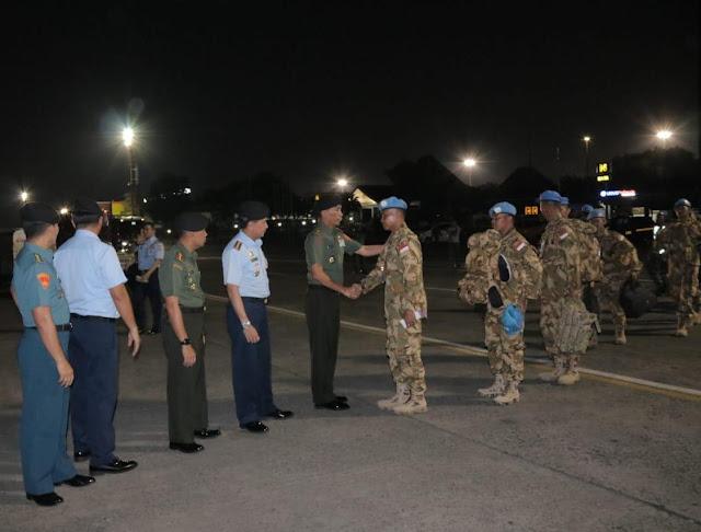 85 Personel Tim Advance Konga XXXIX-A/RDB Berangkat ke Kongo