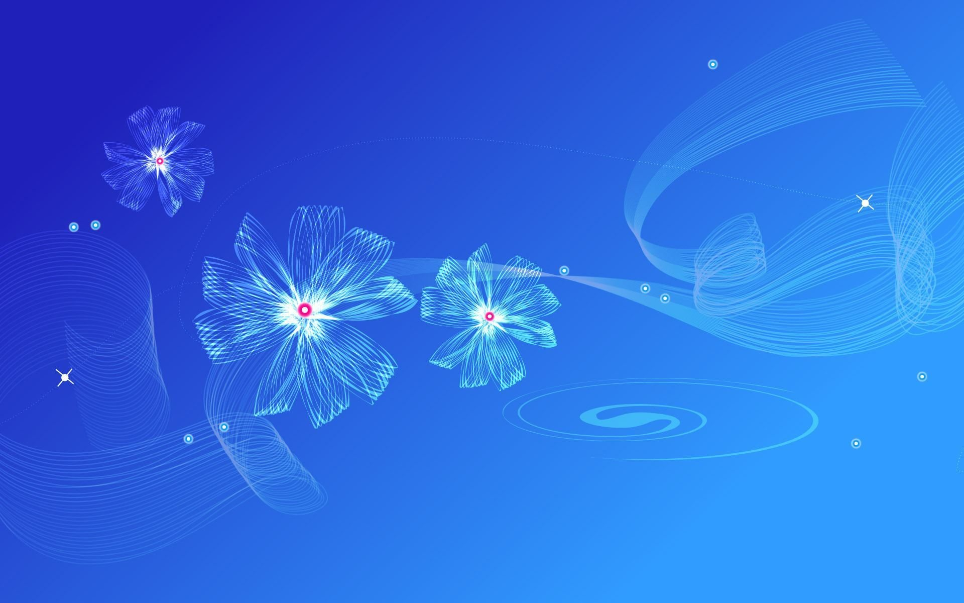 Abstract Blue | Full HD Desktop Wallpapers 1080p