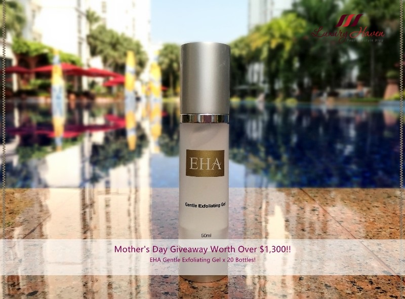 mothers day giveaway eha skincare gentle exfoliating gel