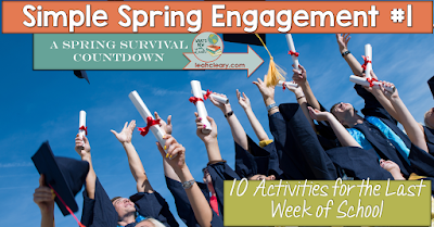 10 Activities for the Last Week of School
