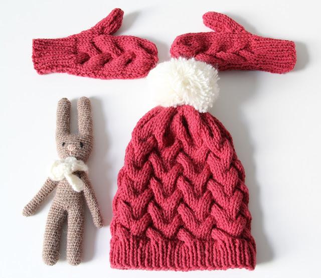 breien, eenvoudige kabel, Gratis breipatronen, gratis patroon, kabels, kind, kindermuts, knitting, muts, Quince & Co, Studio Mojo,