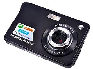 Portable Mini HD Digital Camera with 2.7