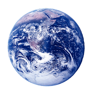 Earth with its 7.5 billion inhabitants