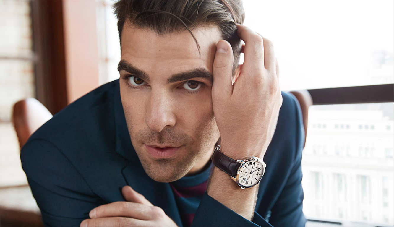 Cartier with Zachary Quinto