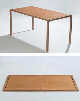 Rekaan Moden, Unik, Kreatif dan Menarik Perabot di Ruang Tamu, Bilik Dan Pejabat - meja mudah alih