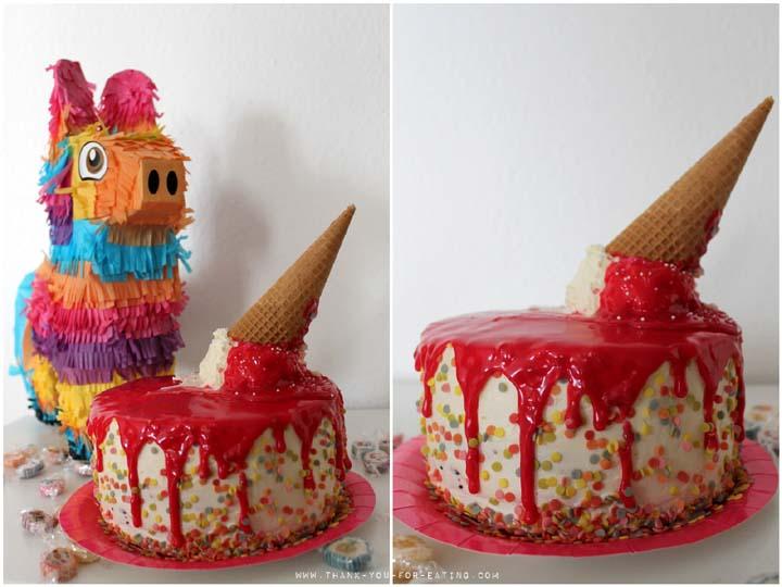Eiscreme Torte ohne Eis