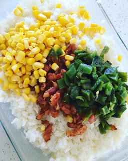 Soufflé de arroz
