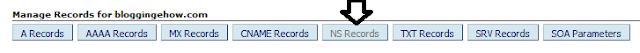 setting name server records