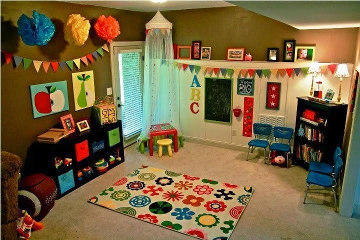 paint ideas for children's playroom