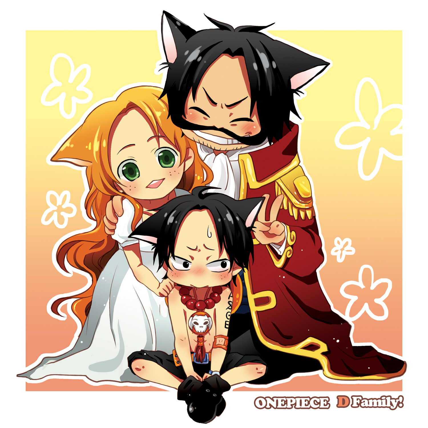 Bueno, esperaba... One Piece Chibi Luffy And Ace