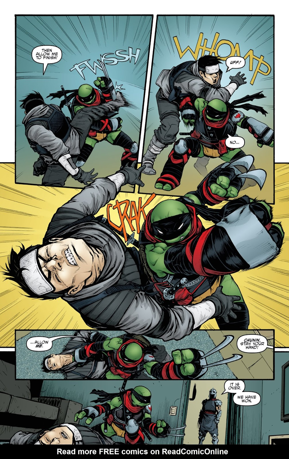 Read online Teenage Mutant Ninja Turtles: The IDW Collection comic -  Issue # TPB 3 (Part 4) - 1