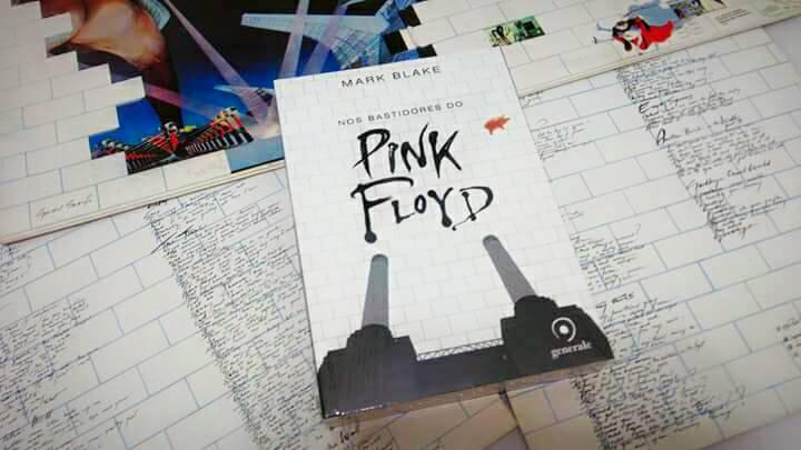[RESENHA #433] NOS BASTIDORES DO PINK FLOYD - MARK BLAKE