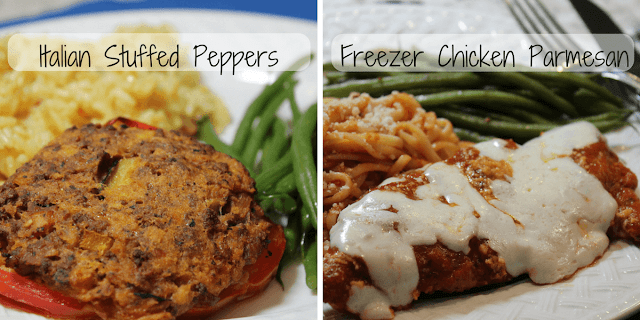 Our Two Favorite Freezer Dinners