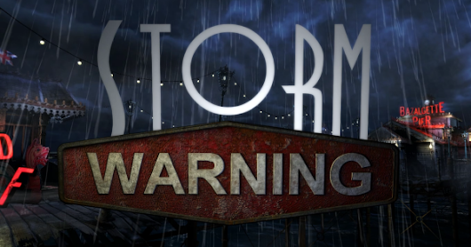DF4 - Storm Warning - Take a stroll along the pier...