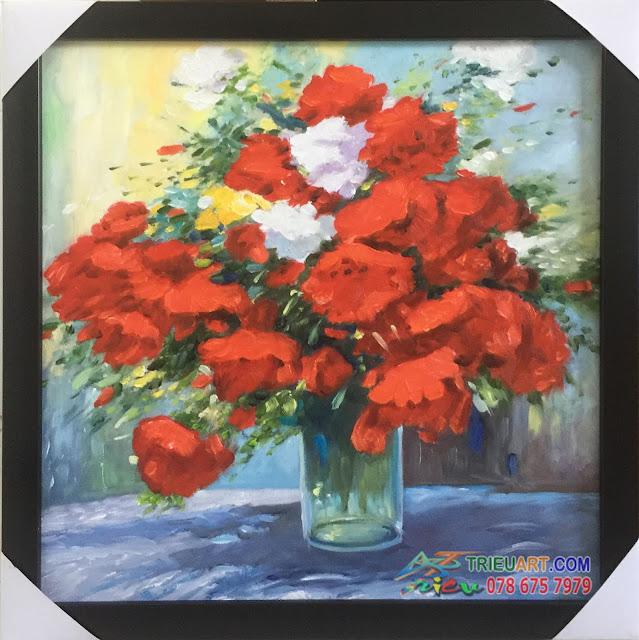 tranh sơn dầu tĩnh vật