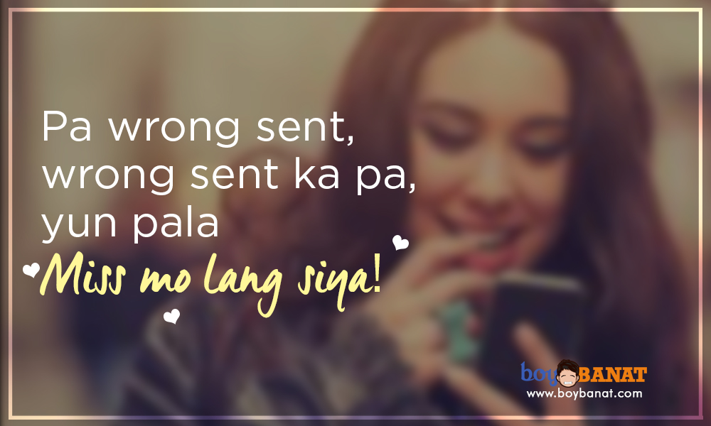 Funny Tagalog Love Quotes for Valentine\'s Day ~ Boy Banat