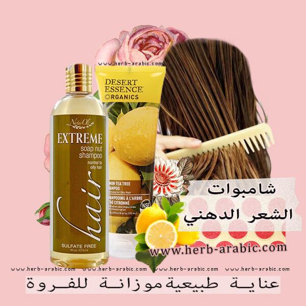 افضل منتجات شامبو الشعر الدهني في اي هيرب