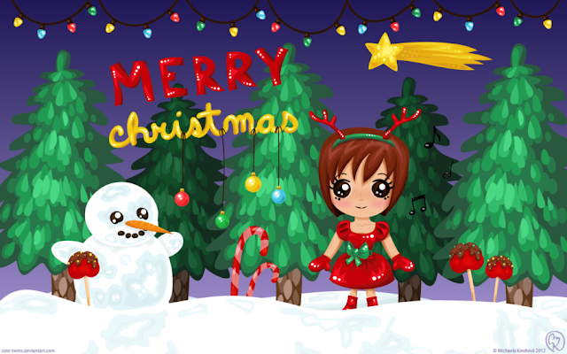 Cute Merry Christmas Wallpapers HD Free