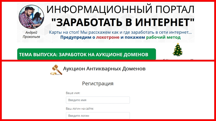 [Лохотрон] vipdomains.info Отзывы. Аукцион антикварных доменов