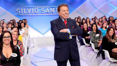 Silvio Santos e Maisa Silva no Jogo dos Pontinhos. Crédito da foto: Lourival Ribeiro/SBT