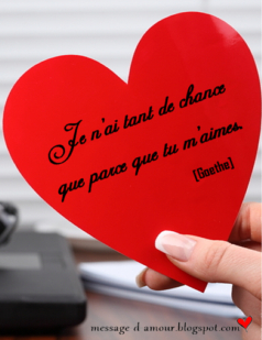 citation romantique dans un coeur