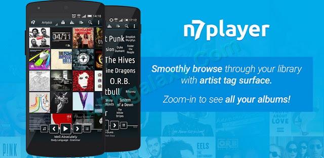 تحميل تطبيق n7player Music Player Premium  النسخة الكاملة للأندرويد مجاناً