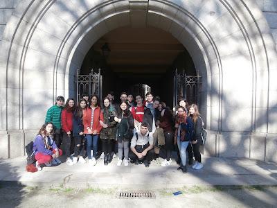 Visita ao Arquivo do Reino de Galicia